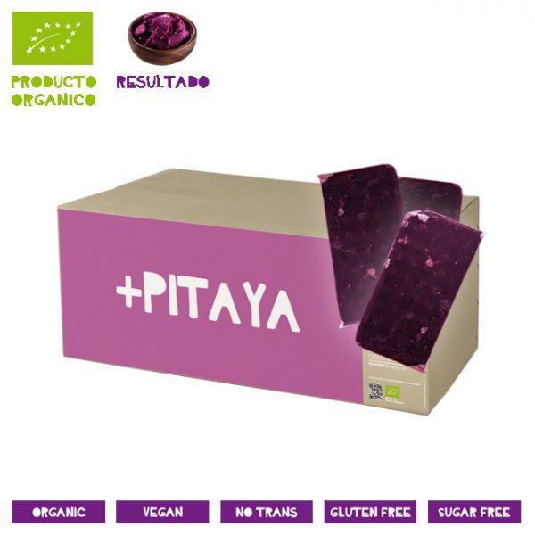 Pulpa Pitaya Congelada Fruta del Dragón Rosa Orgánica