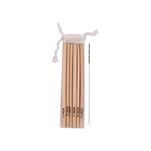 Cañitas de Bambú Ecológicas
